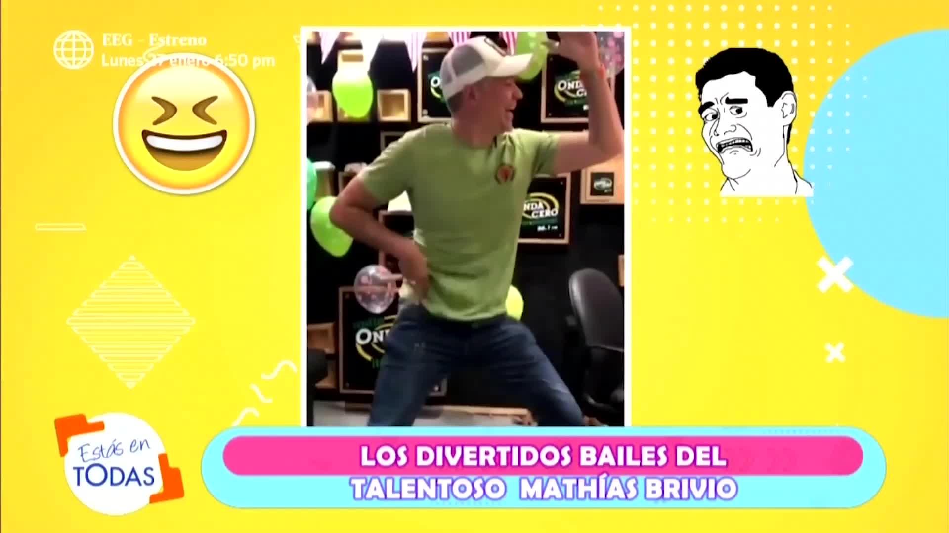 EET: mira aquí los bailes más divertidos de Mathías Brivio en Esto Es Guerra