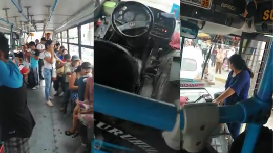 Insólito: Chofer abandona bus para irse a votar y deja a pasajeros varados