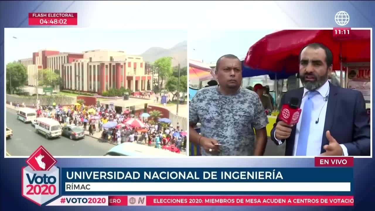 Elecciones 2020: elector que vive en Lima denunció que cambiaron su centro de votación a Huancayo