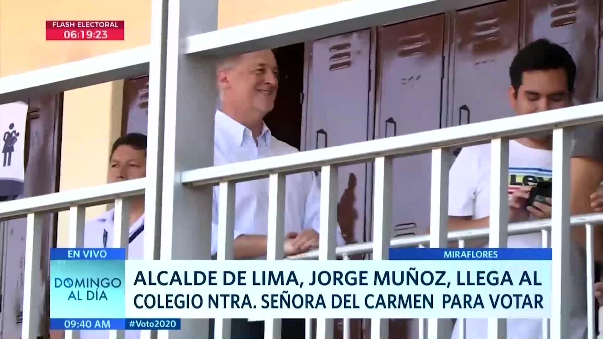 Elecciones 2020: Alcalde de Lima se ofreció a ser miembro de mesa