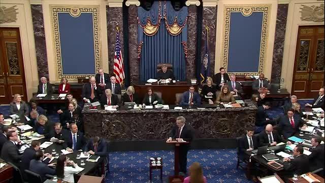 """Trump no hizo """"nada malo"""", dice su defensa en Senado de EEUU"""