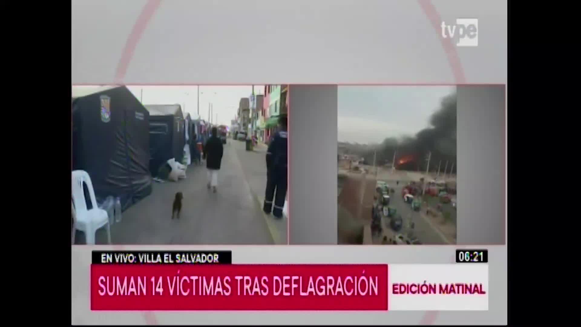 Tragedia en VES: aumentó a catorce la cifra de personas fallecidas tras la explosión