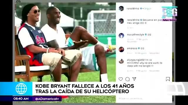 El mundo del deporte llora Kobe Bryant