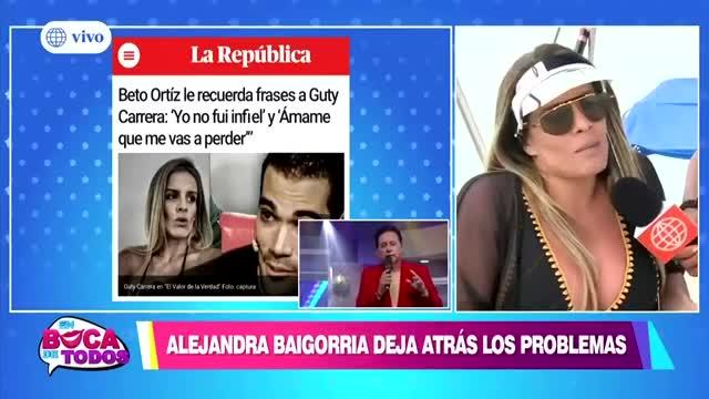 """Alejandra Baigorria: """"Mis abogados ya tomaron cartas sobre el asunto"""""""