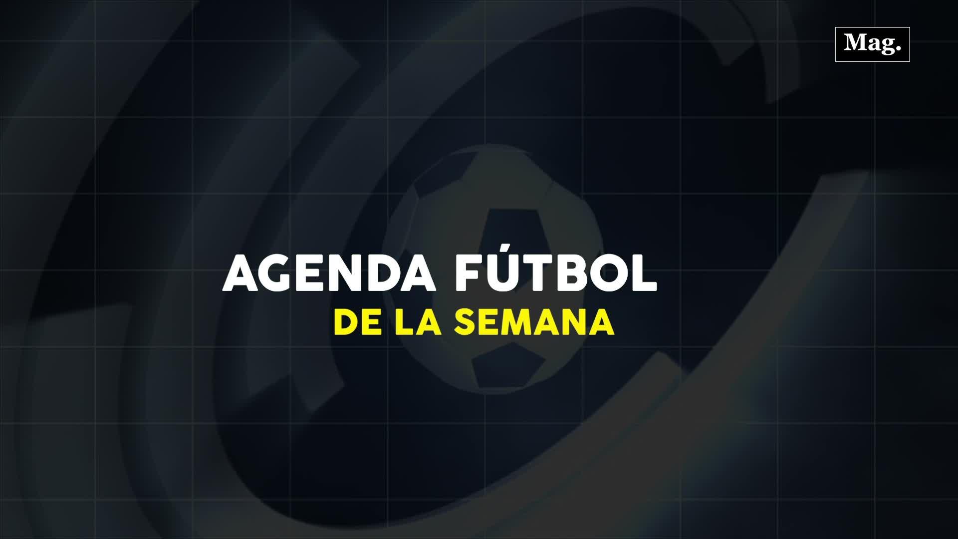 Conoce la agenda de fútbol para hoy martes 28