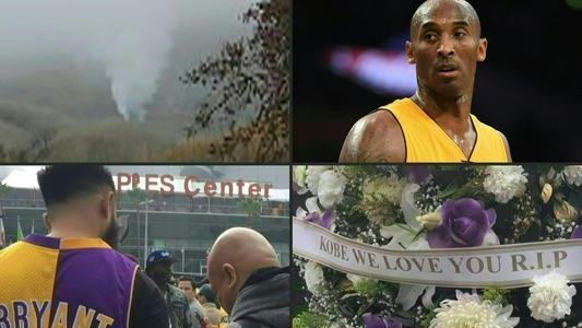 Kobe Bryant: Consternación mundial por su muerte