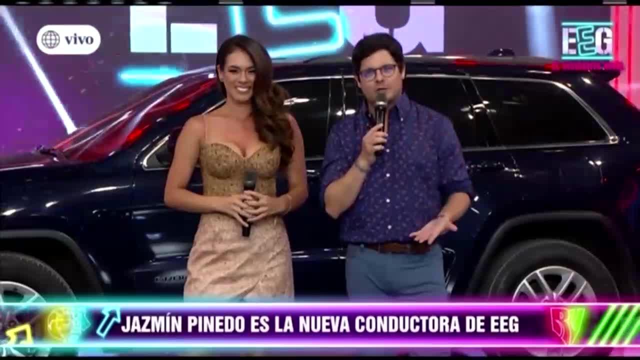 Jazmín Pinedo regresa a 'Esto es guerra' como la nueva conductora del programa