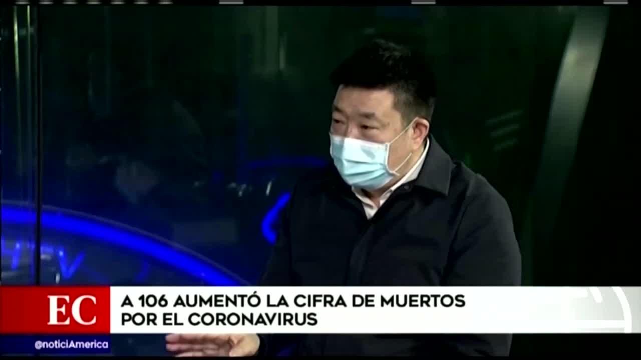 China: 106 muertos por el cornavirus