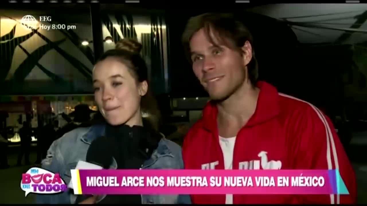 Miguel Arce revela detalles de su nueva vida en México