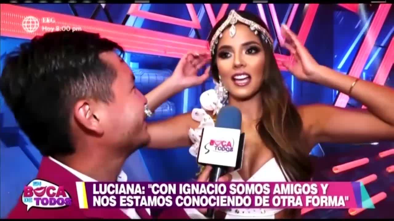 EBT: Luciana Fuster confirma acercamiento con Ignacio Baladán