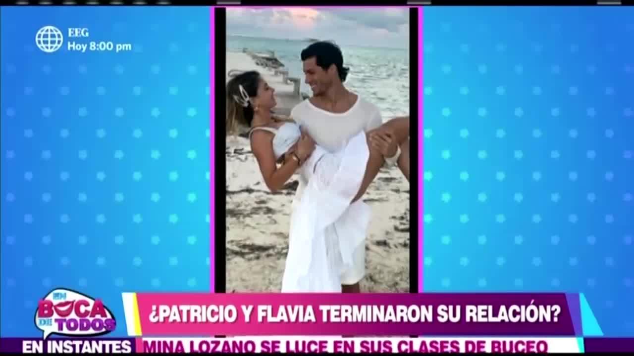 EBT: Patricio Parodi y Flavia Laos habrían terminado su relación amorosa