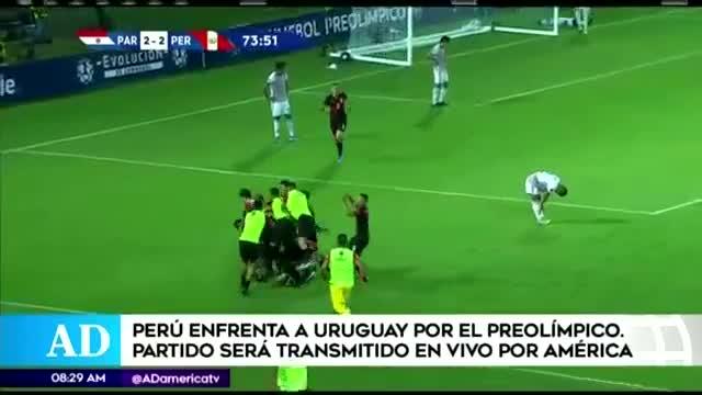 Sub 23 de Perú choca ante Uruguay desde las 6:00 p.m.
