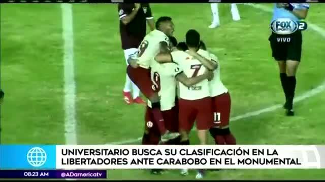 Universitario se juega la clasificación en la Copa Libertadores