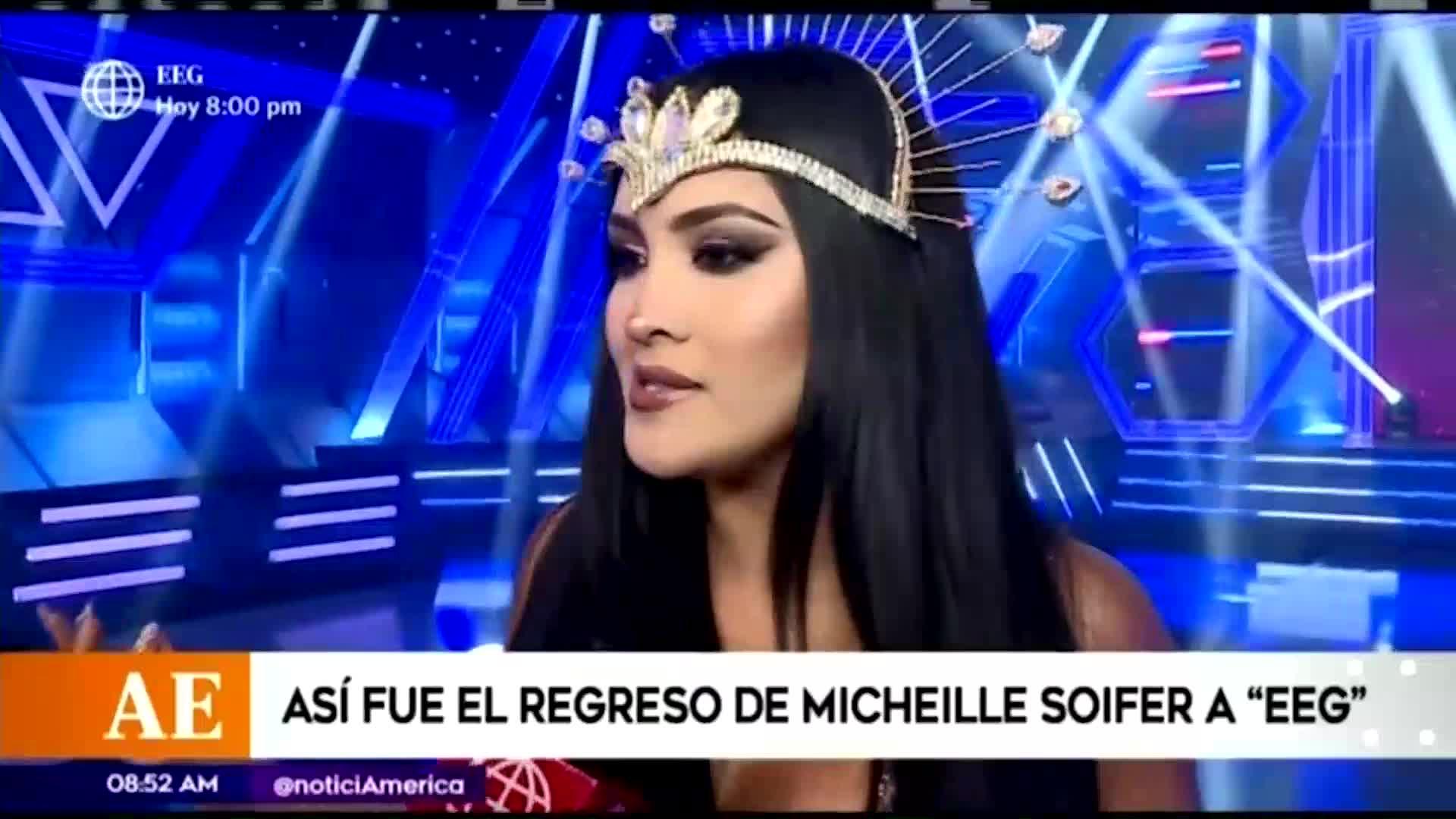 "Michelle Soifer volvió a ""Esto es Guerra"""