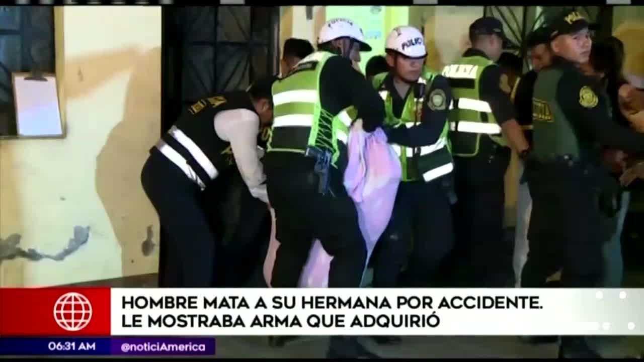Joven mata a su hermana por accidente en San Juan de Lurigancho