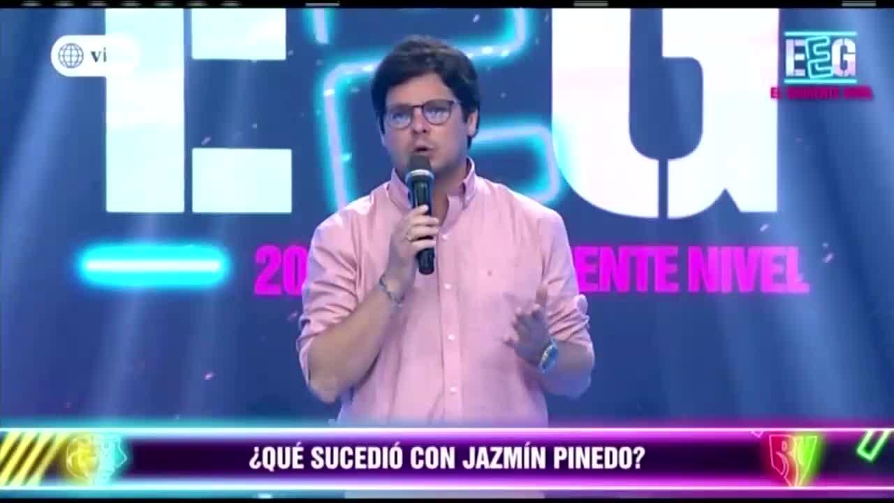 Gian Piero Díaz habla acerca de la ausencia de Jazmin Pinedo en EEG