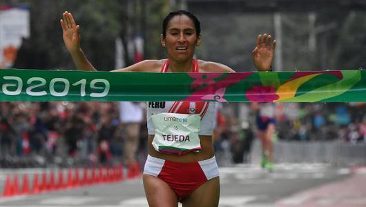 Tokio 2020: Gladys Tejeda usó zapatillas de diferente talla y color para clasificar a los Juegos Olímpicos | VIDEO