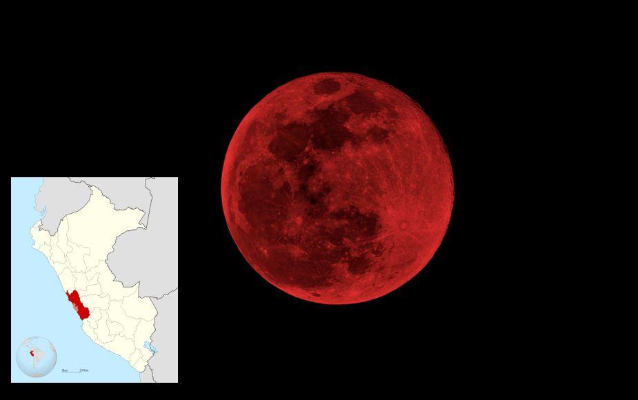 Superluna de sangre EN VIVO ONLINE: sigue en directo el fenómeno astronómico del año