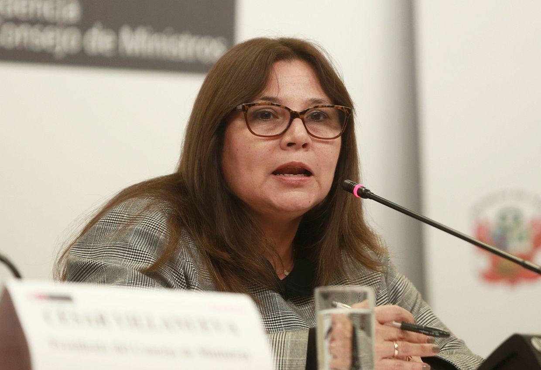 Ana María Mendieta sobre Yonhy Lescano: 'Estos casos tienen que ser investigados y sancionados'