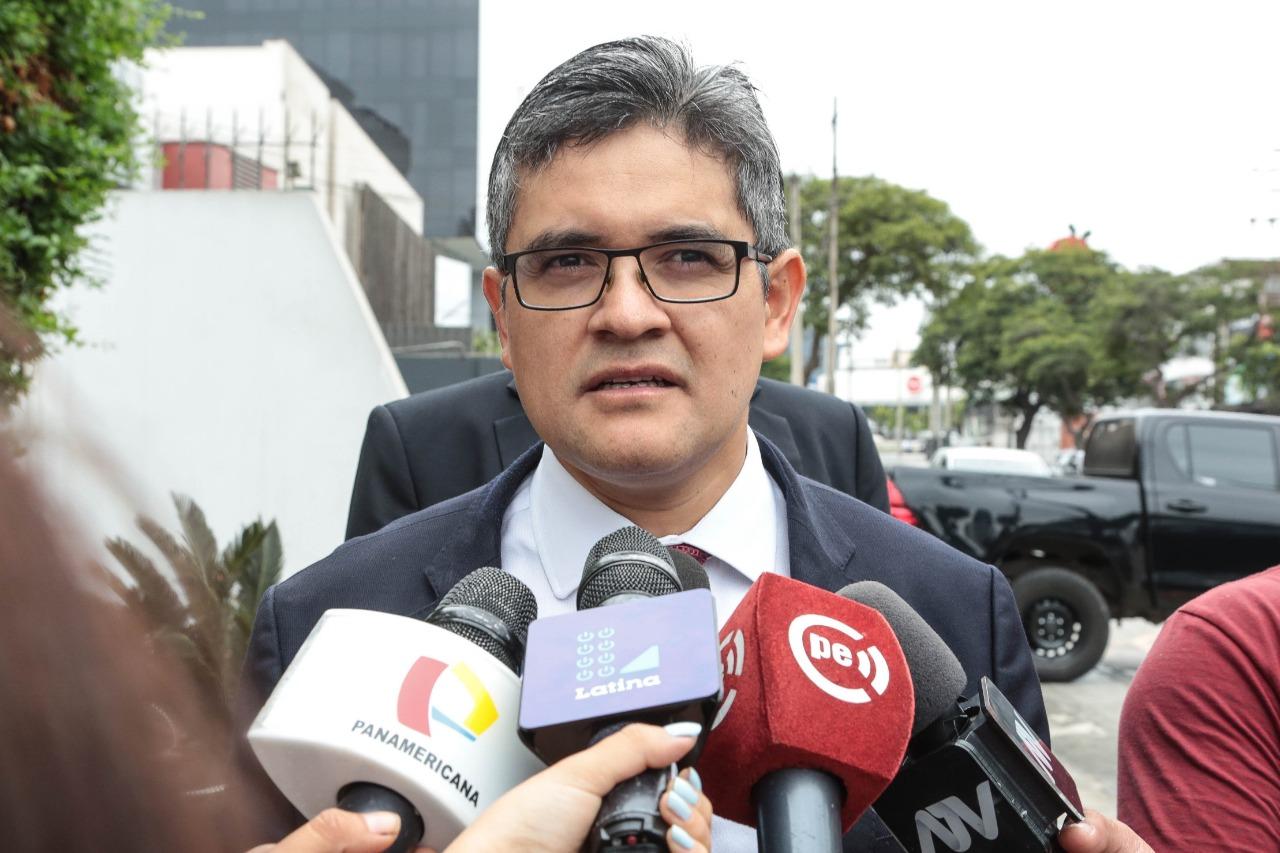 Fiscal José Domingo Pérez: Se está corroborando información de Telefónica