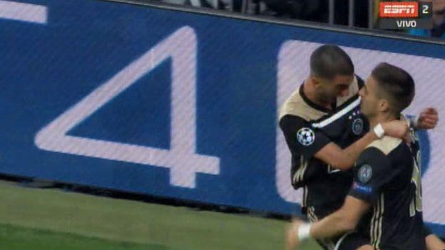Real Madrid vs. Ajax: gol de Hakim Ziyech que enmudeció el Santiago Bernabéu por Champions League   VIDEO