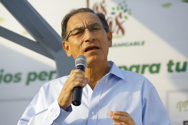 """Martín Vizcarra: """"Si queremos derrotar la corrupción, tenemos que estar unidos"""""""