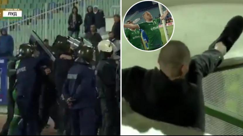 YouTube: anotó gol, lo celebró frente a la tribuna local y los barristas bajaron a reclamarle | VIDEO