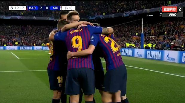 Barcelona vs. Manchester United: error de David De Gea permite el doblete de Lionel Messi | VIDEO