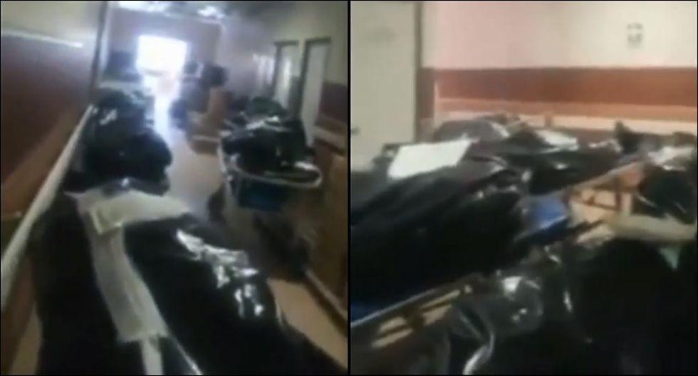 Lambayeque: cadáveres de fallecidos por coronavirus se acumulan en hospitales