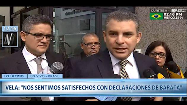 Rafael Vela afirma que se produjo un incidente con Erasmo Reyna