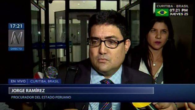 Ramírez: Primera cuota de reparación civil de Odebrecht ya está disponible en cuentas del Estado