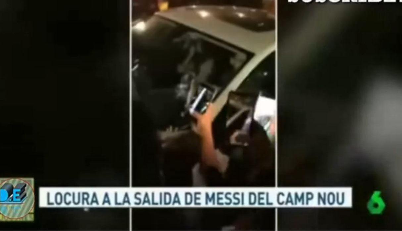 Lionel Messi: hinchas del Barcelona no dejaron salir al argentino tras victoria ante Liverpool | VIDEO