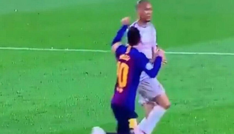 Hinchas del Liverpool juntan firmas para que UEFA sancione a Messi por acción contra Fabinho | VIDEO