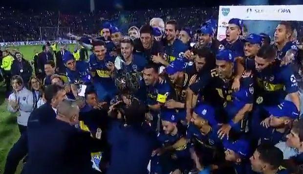Boca Juniors quebró su maleficio en la Supercopa Argentina al consagrarse campeón | VIDEO