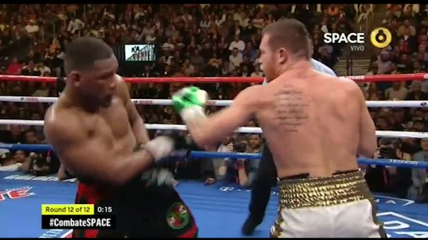 Canelo Álvarez vs. Daniel Jacobs: así fue el último round de la pelea en Las Vegas   VIDEO