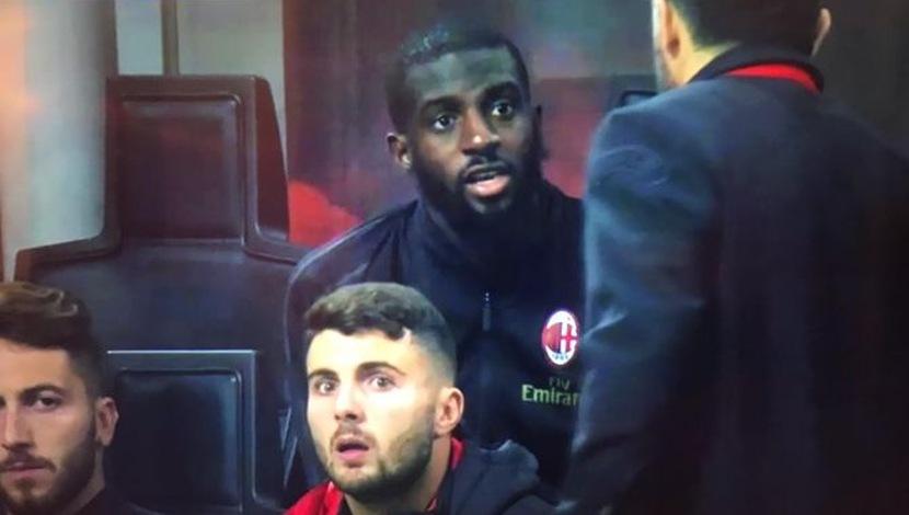 YouTube: Gattuso y Bakayoko vivieron momento tenso en el último partido del Milan | VIDEO