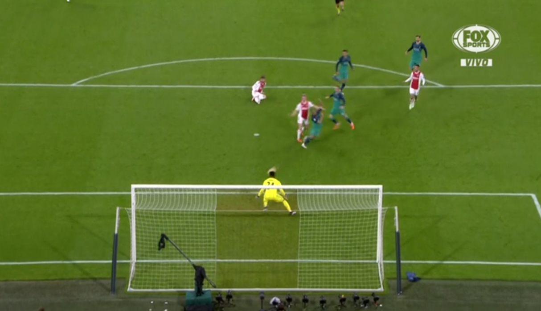 Ajax vs. Tottenham: Lucas Moura descuenta para los 'Spurs' en Champions League | VIDEO