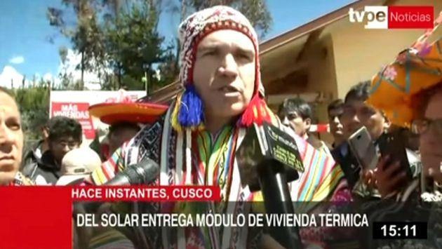 """Del Solar: """"Es por mandato de la Constitución"""" que el Congreso debe priorizar reformas"""