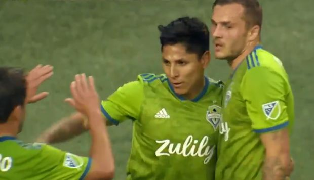 Raúl Ruidíaz anotó para Seattle Sounders en Estados Unidos | VIDEO
