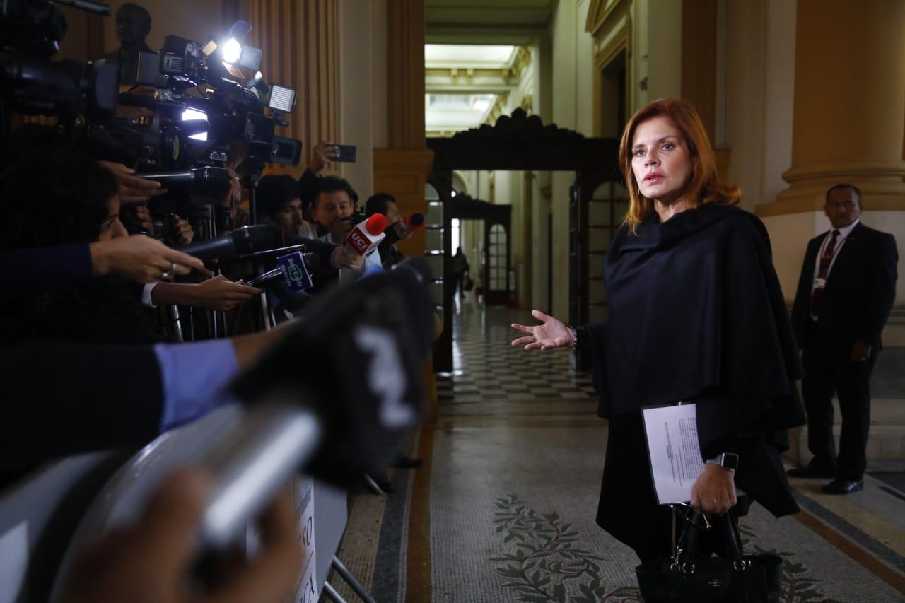 Araoz: Espero que nuevo cronograma de Constitución permita cumplir con plazos