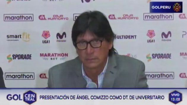 Ángel Comizzo pide disculpas a hinchas por abrupta salida de Universitario de Deportes | VIDEO