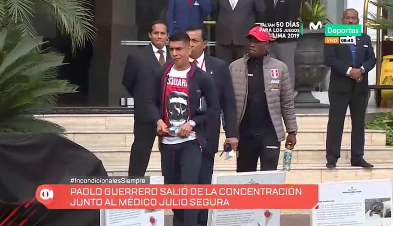 Copa América 2019: Paolo Guerrero, Advíncula y Hurtado salen de concentración para ser revisados   VIDEO