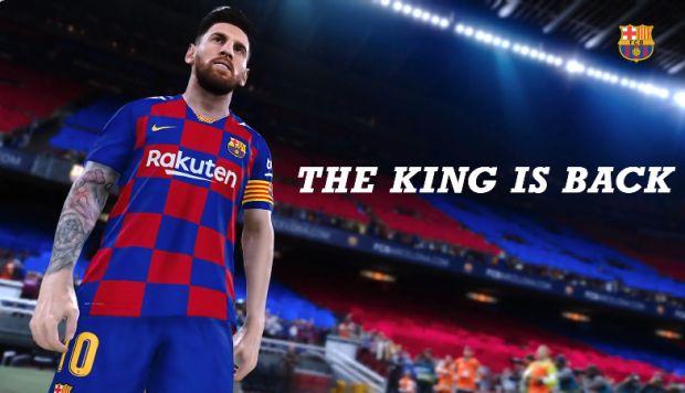 Lionel Messi aparecerá en la portada del PES 2020: este es el espectacular tráiler del juego | VIDEO