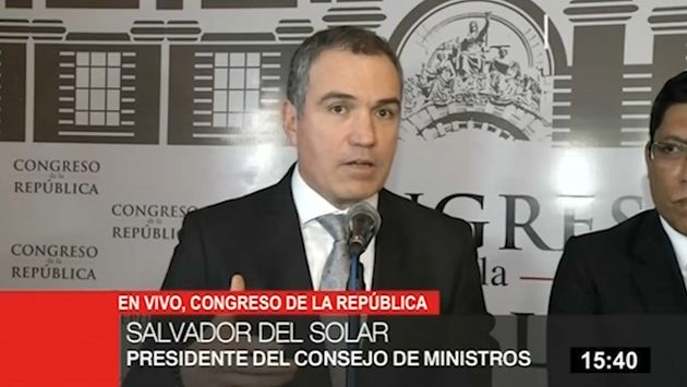 """Del Solar: Lo decidido en el caso Chávarry """"va en contra del espíritu de la ciudadanía"""""""