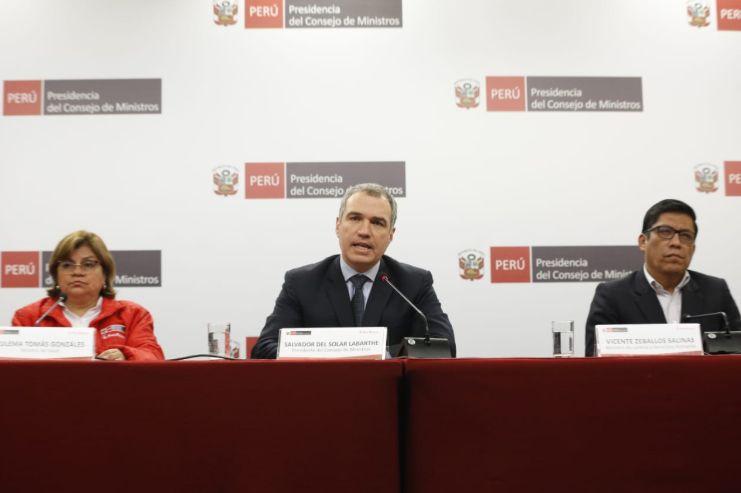 """Salvador Del Solar: """"Es esencial que Pedro Chávarry responda ante la justicia"""""""