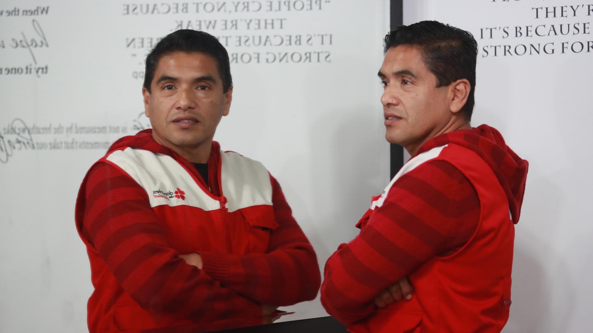 Juan Eduardo Torres, el hombre con el récord nacional de donación de sangre