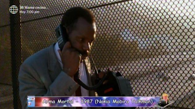 Los celulares que marcaron épocas y fueron usados en películas