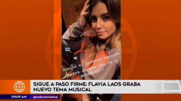 Flavia Laos alista su nuevo sencillo musical