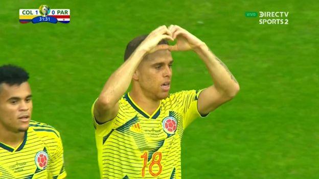 Colombia vs. Paraguay: gol de Gustavo Cuéllar que también se gritó en el Perú | VIDEO