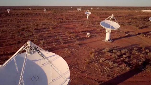 Científicos australianosubican ráfaga de ondas de radio cósmica